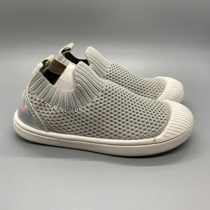 Kids grey slip on shoes